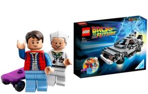 Lego-Delorean