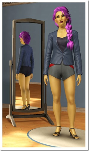 I really hope The Sims 4 has a better random outfit generator!