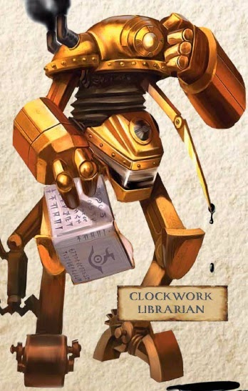 Clockwork Librarian